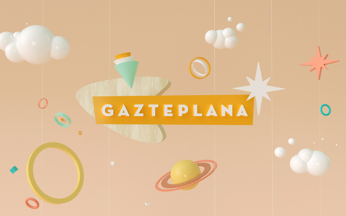 Gazteplana  — Motion graphics